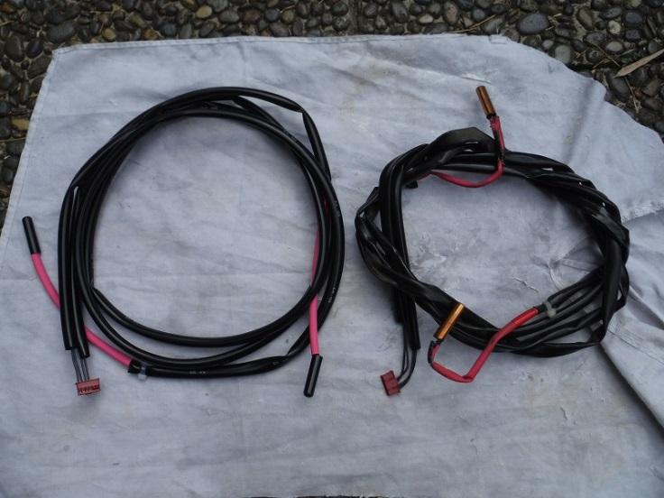 熱交換用・アキュム管用・液管用・過冷却用・吸入管用サーミスタ